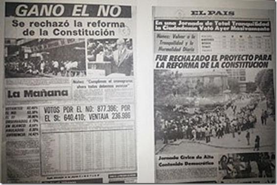 40 años del plebiscito y la construcción permanente de la democracia - La  Colonia Digital
